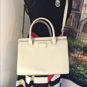 Kate Spade Durham Handbag Crossbody Champagne tan